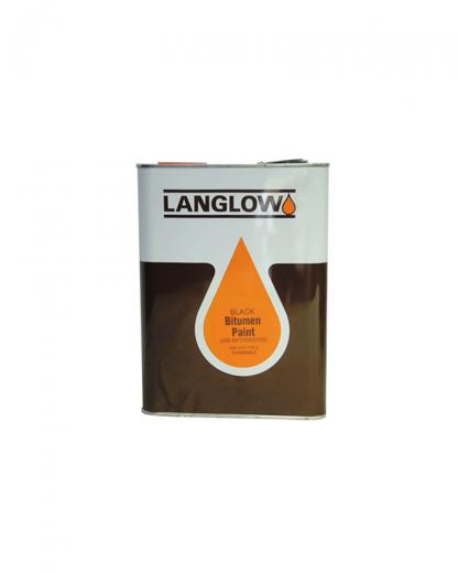 Langlow Bitumen Paint Tin