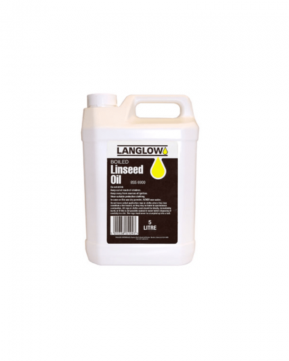 Langlow Boiled Linseed Oil white con