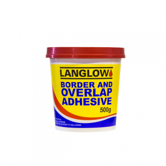 Langlow Border and overlap adhesive