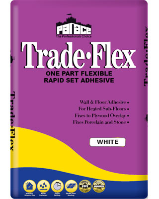 PALACE Trade-Flex Wall & Floor Tile Adhesive - White