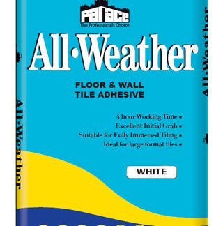 PALACE All-Weather Wall & Floor Adhesive - White