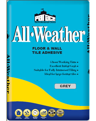 PALACE All-Weather Wall & Floor Tile Adhesive - Grey