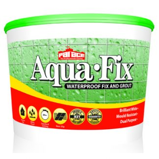 PALACE Aqua-Fix Waterproof Wall Tile Adhesive and Grout