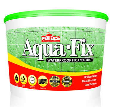 PALACE Aqua-Fix Waterproof Wall Tile Adhesive and Grout