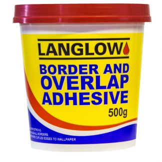 Border & Overlap adhesive