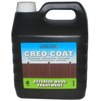Creo-Coat oil-based timber protector
