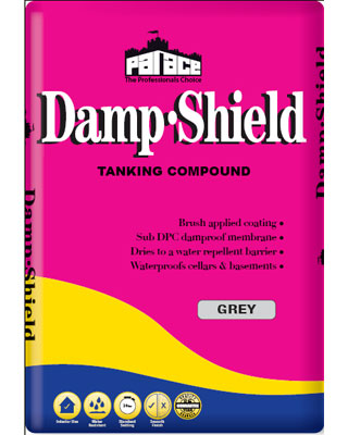 PALACE Damp-Shield Tanking Compound