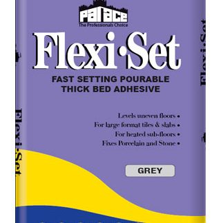 PALACE Flexi-Set Pourable Thick Bed Floor Tile Adhesive