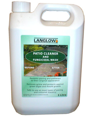 PATIO CLEANER & FUNGICIDAL WASH Concentrate