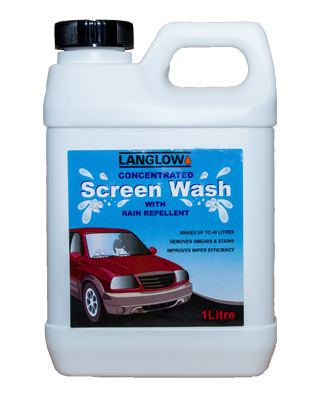 Screenwash concentrate