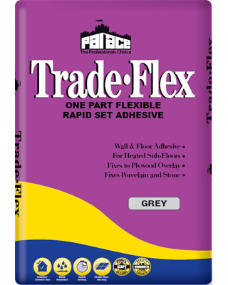 PALACE Trade-Flex Wall & Floor Tile Adhesive - Grey