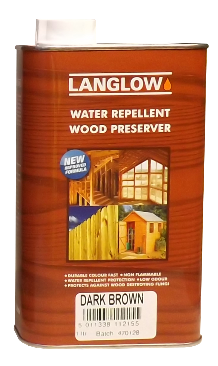 langlow wood preserver clear colours palace chemicals. Black Bedroom Furniture Sets. Home Design Ideas